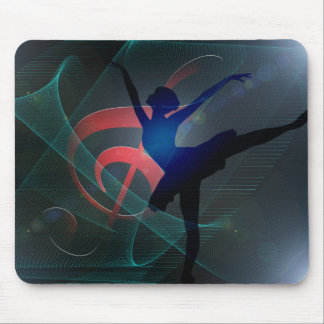 Dance school mouse pad