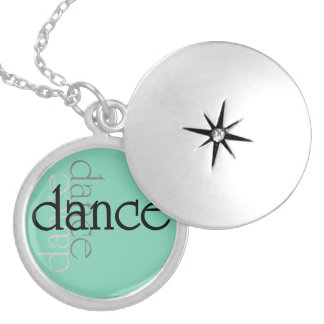 Dance Shadows Locket Necklace