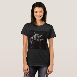 Dance Shirt, Black and White Romantic Dance Photo T-Shirt