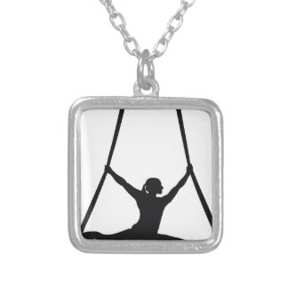 Dance Silver Plated Necklace
