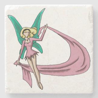 """Dance"" Simple Fairy Beverage Coaster"