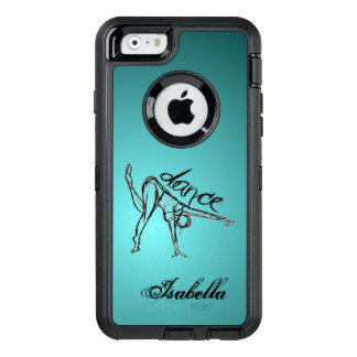 Dance Sketch OtterBox Defender iPhone Case