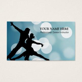 Dance Sport Instructor Business Card Template