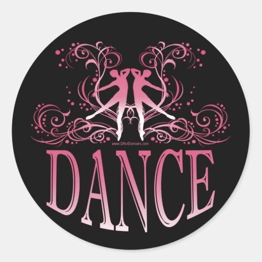 Dance Sticker (rose)