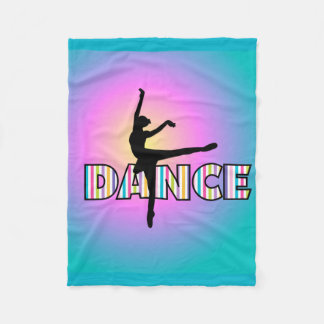 Dance Stripes Fleece Blanket