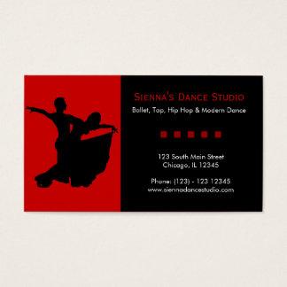 Dance Studio Business Card