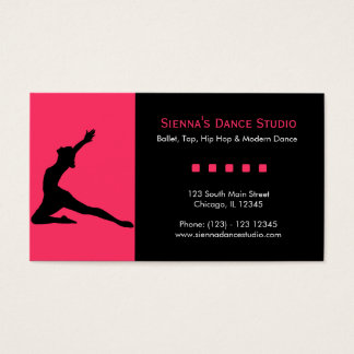 Dance Studio Business Card