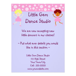 Dance Studio Business Flyer