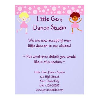 Dance Studio Business Flyer Design