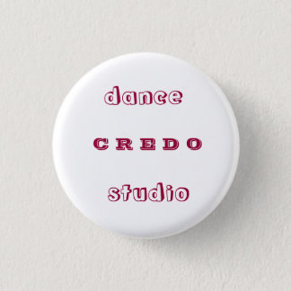 Dance studio CREDO 1 Inch Round Button