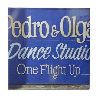 Dance Studio Pedro Olga Ceramic Tile