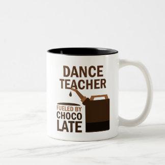 Dance Teacher (Funny) Gift Two-Tone Mug
