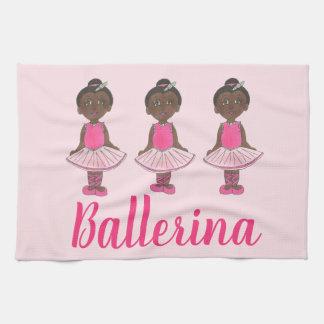 Dance Teacher Gift Pink Ballet Tutu Ballerina Kitchen Towel