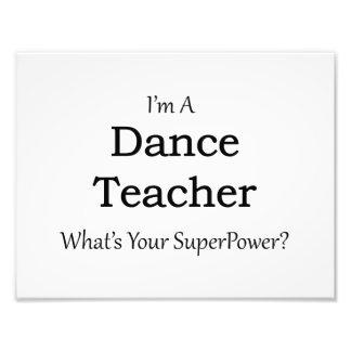 Dance Teacher Photographic Print