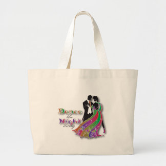 Dance the Night Away Large Tote Bag