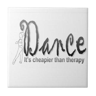 Dance therapy ceramic tile