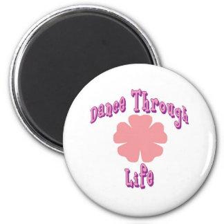 Dance Through Life Refrigerator Magnets