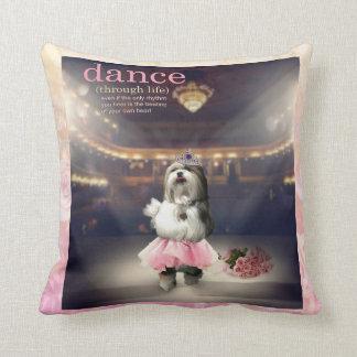 Dance through Life Pillow