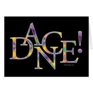 Dance! (Tie-dye) Card
