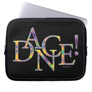 Dance! (Tie-Dye) Laptop Sleeve