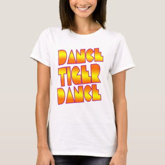 Dance Tiger Dance- girls electro dance club shirt