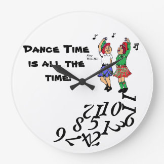 Dance Time? Clock