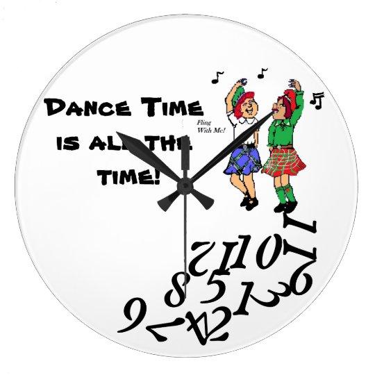 Dance Time? Clock