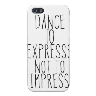 dance to express iPhone 5/5S case