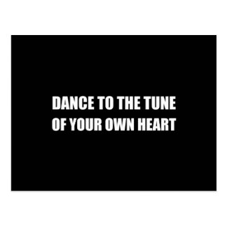 Dance To Own Heart Postcard