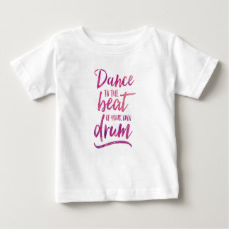 Dance to the beat of your own drum kids T-shirt