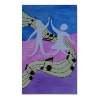 Dance to the Music Poster