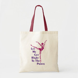 Dance Tote: To The Pointe Tote Bag