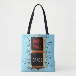 Dance Traffic Signal Tote Bag