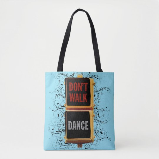 Dance Traffic Signal Tote Bag
