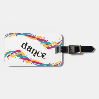 Dance Twists Luggage Tag