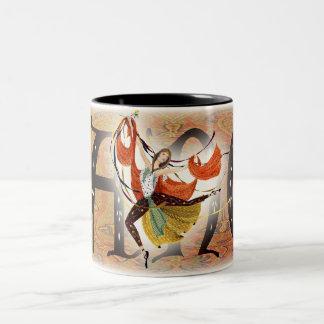 Dance Two-Tone Coffee Mug