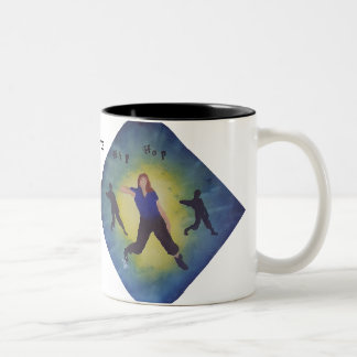 Dance two-tone mug