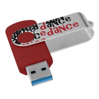 Dance USB Swivel Stick by DAL Swivel USB 3.0 Flash Drive