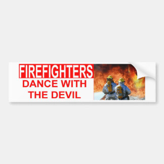 DANCE WITH DEVIL BUMPER STICKER