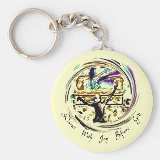 Dance With Joy Keychain