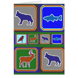 Dance with the Wolf - Wild Life Series Card
