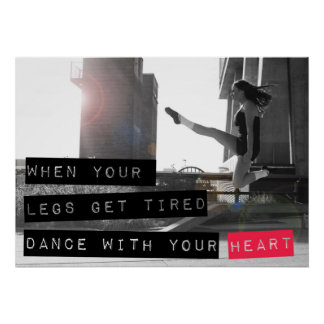 Dance With Your Heart Ceili Moore Poster