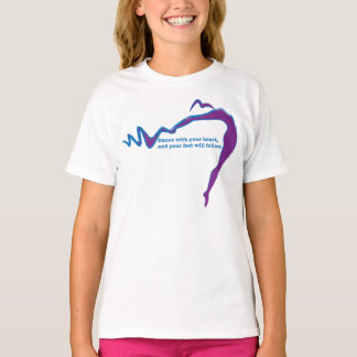 Dance with your heart... tee shirts