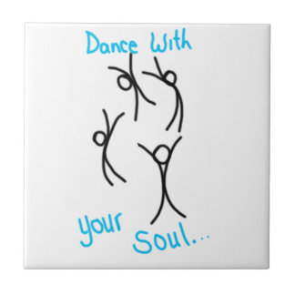 Dance with your soul ceramic tiles