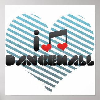 Dancehall fan poster