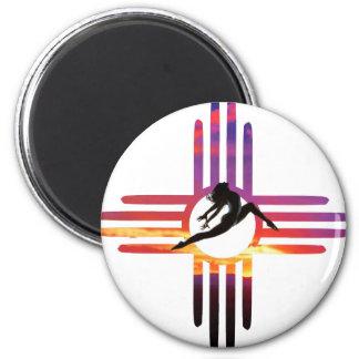 DanceNM 2 Inch Round Magnet