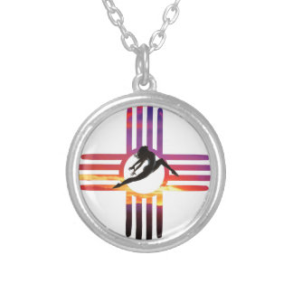 DanceNM Silver Plated Necklace