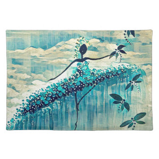 DANCER AND DRAGONFLIES 10 PLACEMAT