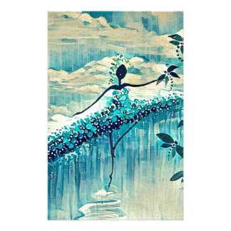 DANCER AND DRAGONFLIES 10 STATIONERY