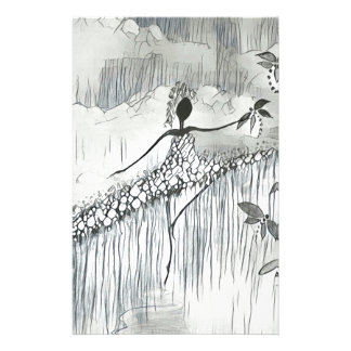 DANCER AND DRAGONFLIES 11 STATIONERY